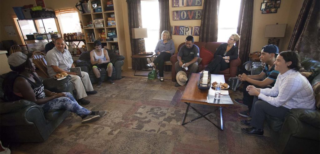 A Way Home WA listening tour in Yakima